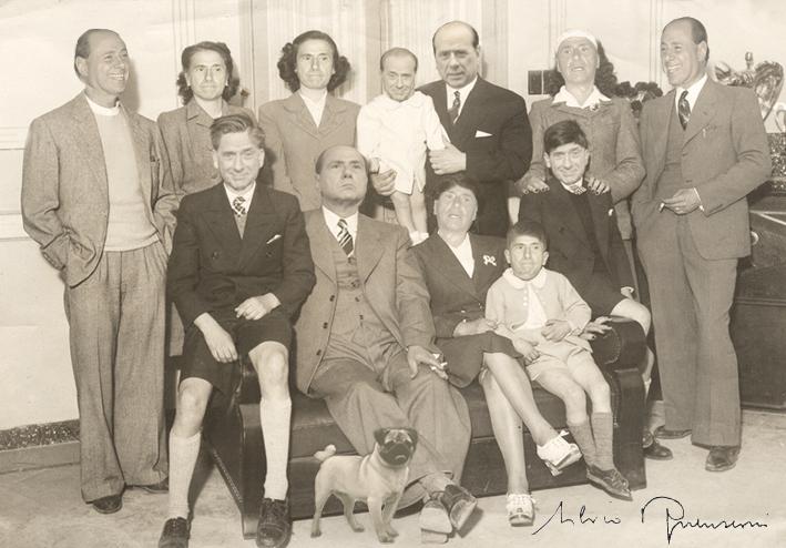 La famiglia berlusconi