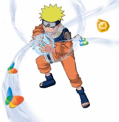 Icone MSN di Naruto