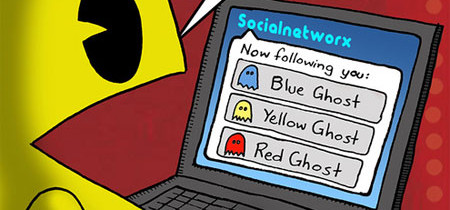 Se anche Pacman fosse su Twitter