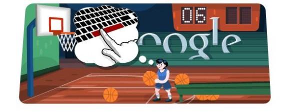 Google Doodle Olimpiadi 2012: il Basket