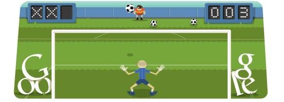 Doodle Olimpico del 10 Agosto: oggi si gioca a calcio!