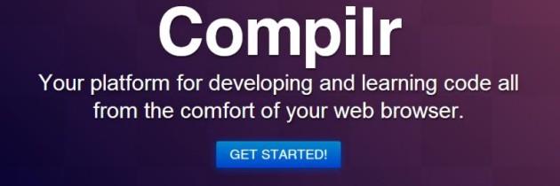 Compilr, un compilatore con IDE integrata interamente online
